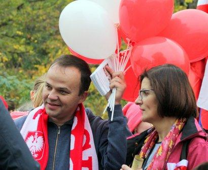 Забег к 100-летию независимости Польши