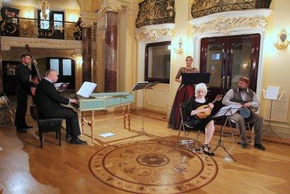 В Одессе выступил ансамбль старинной музыки «Pracht-Ensemble»
