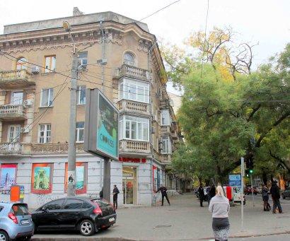 Улица Польская и ее окрестности.