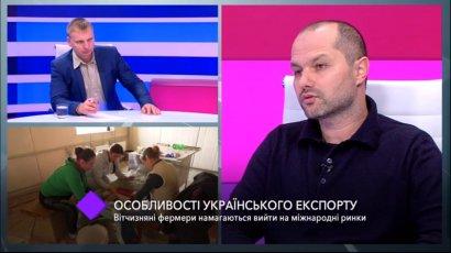 Особенности украинского экспорта. В студии — фермер Павел Тулба