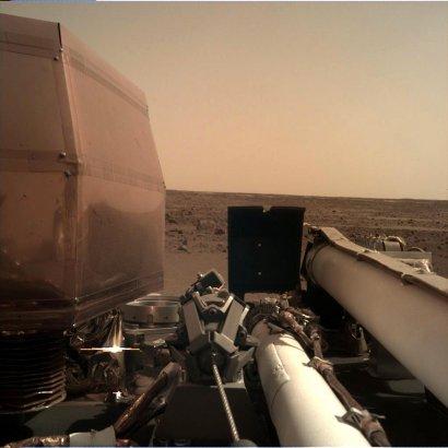 InSight: Опубликован еще один снимок с Марса
