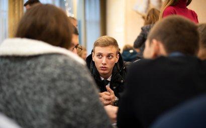 В Одесской Юракадемии прошел ежегодный чемпионат  интеллектуалов «Что? Где? Когда?»