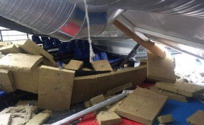 Полиция задержала трех причастных к обвалу крыши в детской спортшколе города Вишнёвого