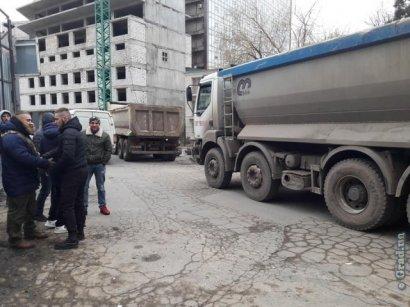 На Гагаринском плато продолжаются акции протеста