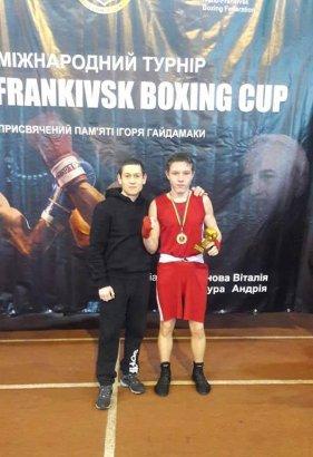 Боксёр из Одесской области завоевал золото на турнире в Ивано-Франковске