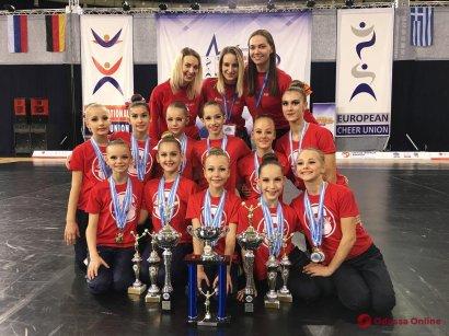 Представительницы клуба «Spirit» достойно защитили честь Одессы и Украины