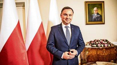 Дуда призвал сохранить и усилить санкции против РФ