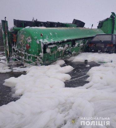 В Винницкой области произошло тройное ДТП