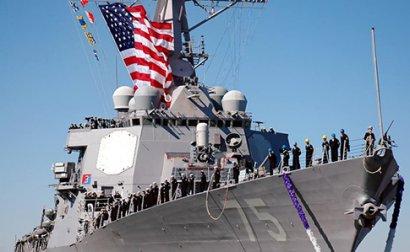 Американский ракетный эсминец Donald Cook зашёл в акваторию Черного моря