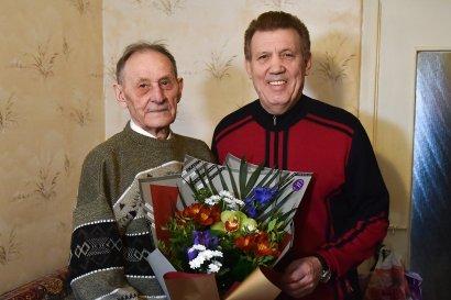 Сергей Кивалов поздравил ветерана-освободителя Николая Москового с 95-летием