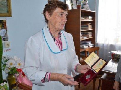 Педиатр из Березовского района получил звание «Заслуженный врач Украины»