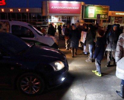 Одесситы перекрывают дорогу возле аэропорта с требованием помешать открытию очередного казино