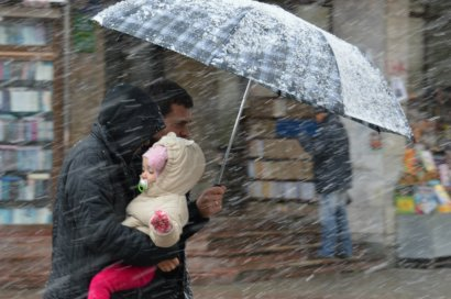 В Украине пройдут дожди с мокрым снегом, потепления не ожидается