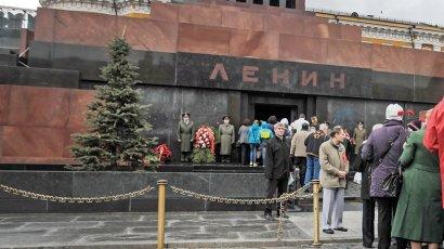 Мавзолей Ленина закрывают для посетителей