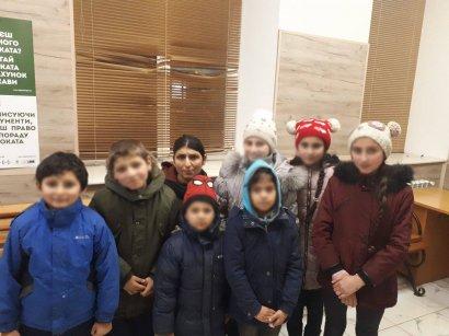 Одесские ювенальщики поймали восемь детей-попрошаек