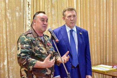 В Одесской Юракадемии чествовали ветеранов-афганцев накануне Дня вывода войск из Афганистана