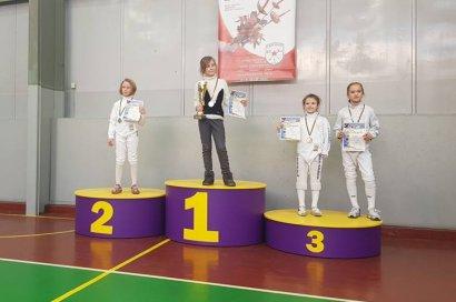 Юные фехтовальщики из Одессы стали чемпионами и медалистами всеукраинских соревнований по фехтованию