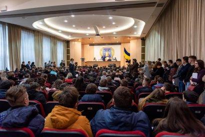 Одесская Юракадемия встретила абитуриентов со всех уголков Украины