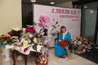 Председатель Одесского областного Совета мира Тамила Афанасьева отмечает юбилей