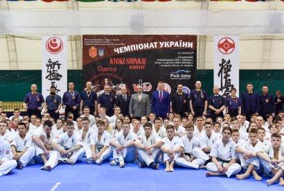 Одесса приняла чемпионат Украины по киокушинкай карате