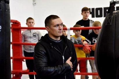 Звезды спорта открыли в Одессе детский боксерский клуб