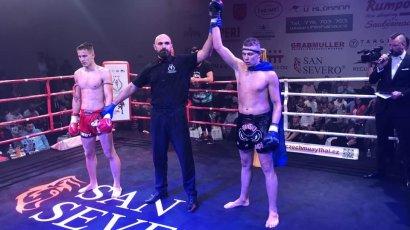 Победный старт одесского тайбоксёра Олега Гуты в новом спортивном сезоне