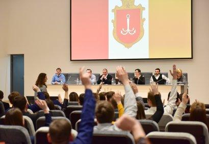 Выпускница Одесской Юракадемии возглавила Молодежный совет
