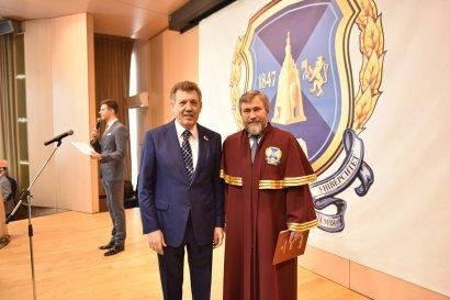 Выпускникам Одесской юридической академии вручили дипломы магистров в Киеве и Одессе