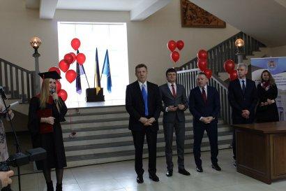 Первый заместитель Министра юстиции Украины посетила Одесскую юридическую академию
