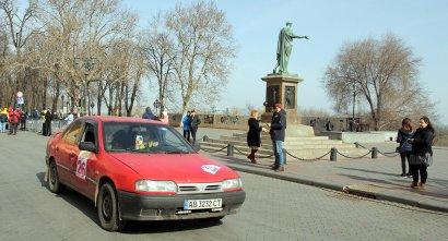 В Одессе проходит женское авторалли