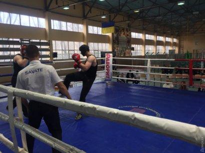 Одесситы привезли медали с чемпионата Украины по французскому боксу Сават
