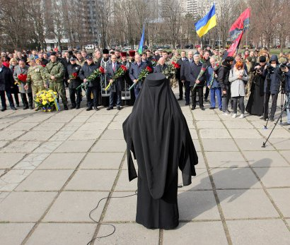 В Одессе отметили День украинского добровольца