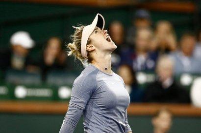 Элина Свитолина вышла в полуфинал престижного теннисного турнира