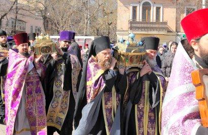 Крестный ход: в Одессе молились о мире