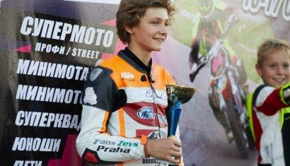 Юный одесский мотогонщик отправится на международный чемпионат в Европу