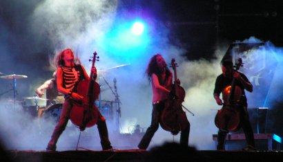 Apocalyptica выступит на ZaxidFest во Львове