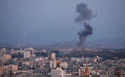 Из сектора Газа впервые за 5 лет обстреляли центральную часть Израиля