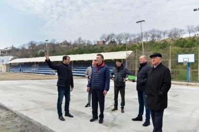 В Одессе проходит масштабная реконструкция спортивного комплекса на 8-й станции Большого Фонтана