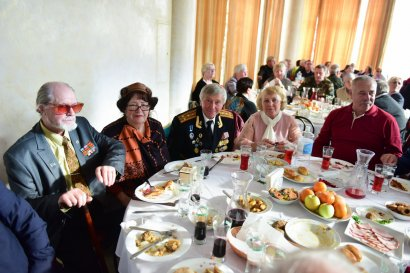 В преддверии Дня освобождения города в Одесской Юракадемии чествовали ветеранов