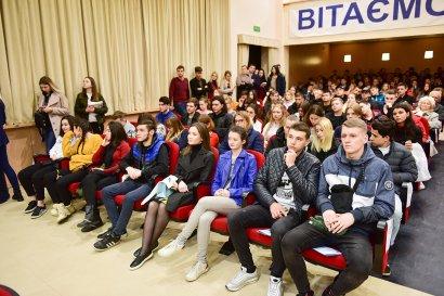 «Мы точно знаем, что хотим в этот вуз»: День открытых дверей в Национальном университете «Одесская юридическая академия».
