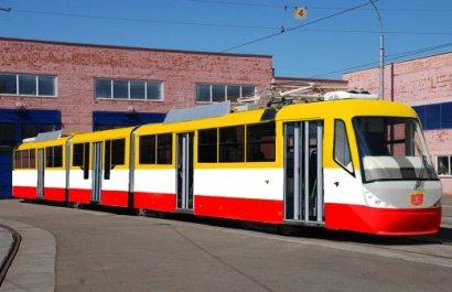 В Одессе будут собирать современные трехсекционные трамваи