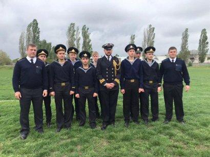Будущие одесские моряки соревновались со своими британскими  коллегами в регби-7