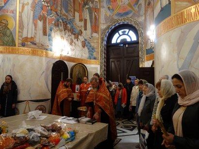 День Победы в Одессе: в храме Святой мученицы Татианы прошёл благодарственный молебен и праздничный концерт