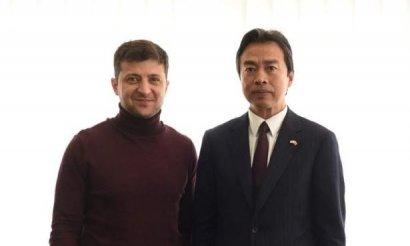 Зеленский провел встречу с послом Китая в Украине Ду Веем