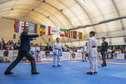 Мировые состязания по годзю-рю каратэ и по каратэ и кобудо в спорткомплексе Международного гуманитарного университета на 8-й станции Большого Фонтана