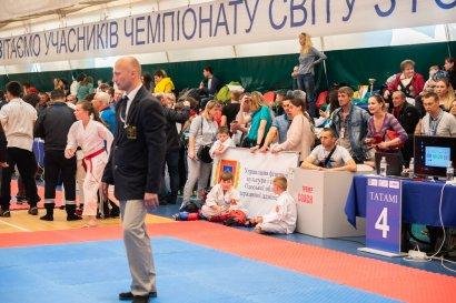 В Одессе прошел Чемпионат мира по годзю-рю карате и Кубок мира по карате Кобудо