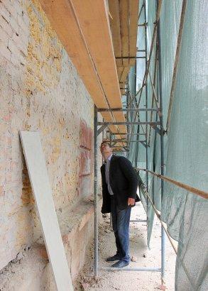 В одной из старейших школ на Молдаванке проводится капитальный ремонт.