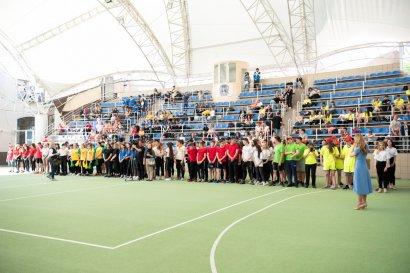 Закрытие Малых олимпийских игр  в спортивном комплексе Национального университета «Одесская юридическая академия»