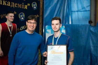 В Одессе наградили победителей Универсиады по бадминтону