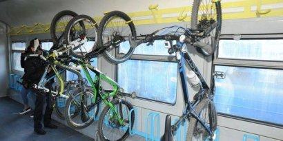 В поездах Интерсити разрешили перевозить велосипеды